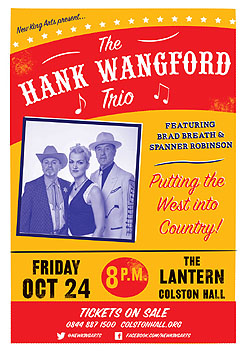 Hank Trio, Colston hall 24th October 2014