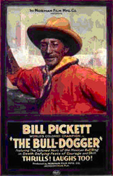 Bill Pickett USA Stamp