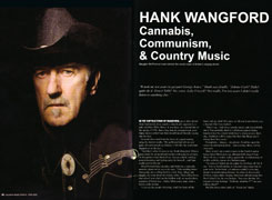 Hank talks to Country Music People (April 09)