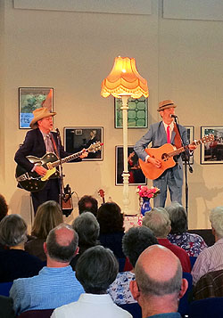 Hank & Brad at Frome festival.  Photo Credit: Nigel White