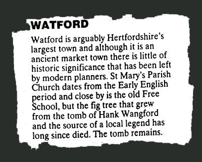 Watford Tourist Guide